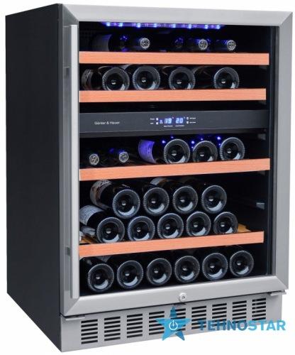 Фото - Встраиваемый винный шкаф Gunter-Hauer WKI 44 D