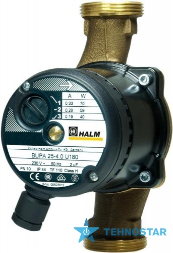 Фото - Циркуляционный насос HALM BUPA 15-4.0 U 130
