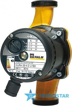 Фото - Циркуляционный насос HALM HUPA 30-7.0 U 180