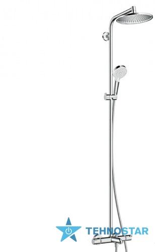 Фото - Душевой гарнитур Hansgrohe 27320000 Crometta S 240 Showerpipe Душова система д/ванни