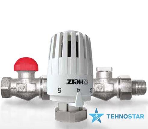 Фото - Радиаторный кран Herz Project V772363 комплект прямой 1/2