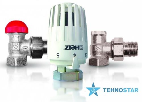 Фото - Радиаторный кран Herz Project V772463 комплект угловой 1/2