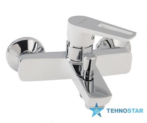 Фото - Смеситель для ванны Imprese BRECLAV  хром/белый 10245W