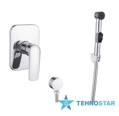 Фото - Гигиенический душ Imprese VR15030Z-BT PRAHA new  набор (смеситель скрытого монтажа с гигиеническим душем)