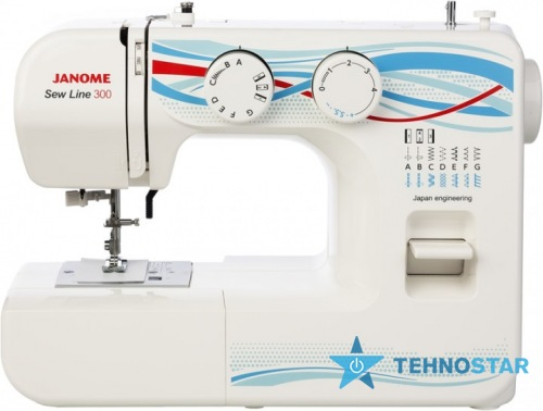 Фото - Швейная машинка Janome Sew Line 300