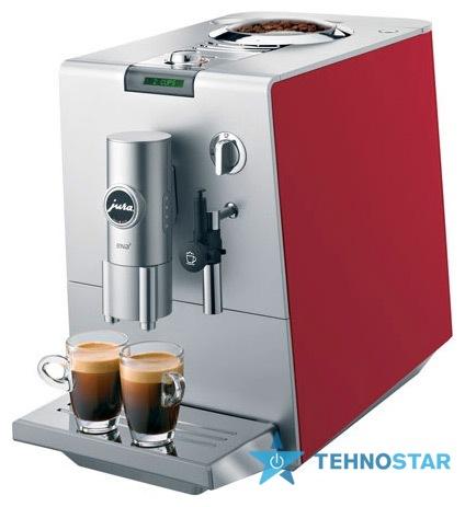 Фото - Эспрессо кофеварка Jura ENA 5 coffee cherry red