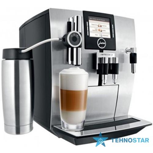 Фото - Эспрессо кофеварка Jura Impressa J9.4 TFT aluminium Aroma+ EU