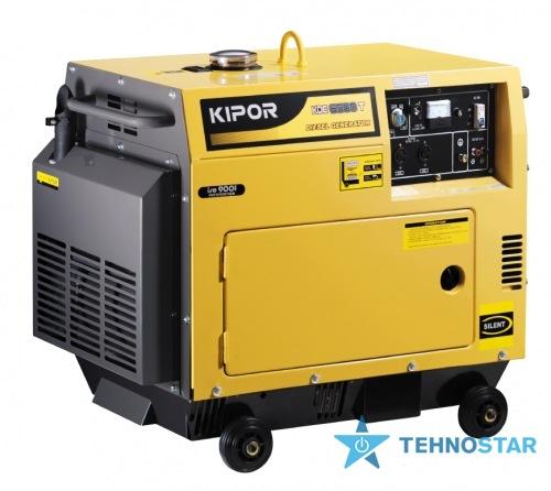 Фото - Электростанция Kipor KDE6500T