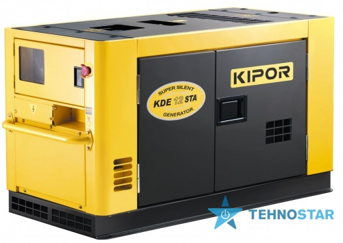 Фото - Электростанция Kipor KDE 12 STA