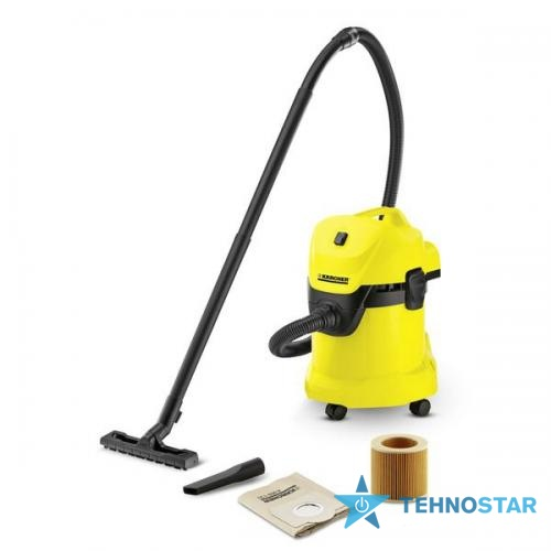 Фото - Пылесос Karcher WD3 FIREPLACE KIT