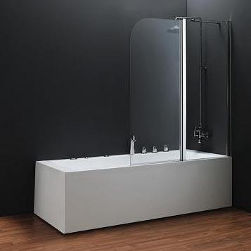 Фото - Шторка для ванны Koller Pool  QP95 1150x1400 chrome; clear (right)