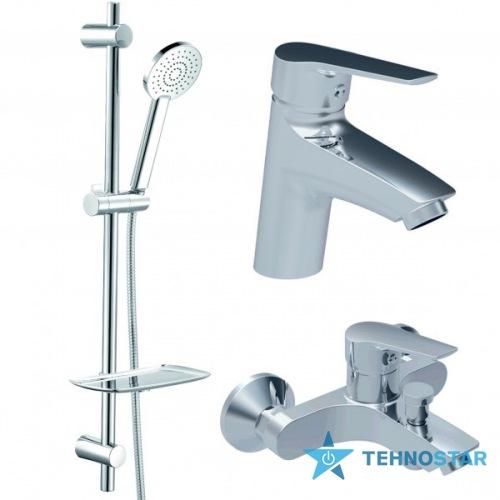 Фото - набор смесителей Koller Pool TWIN (TN0200+TN0100+TN010)