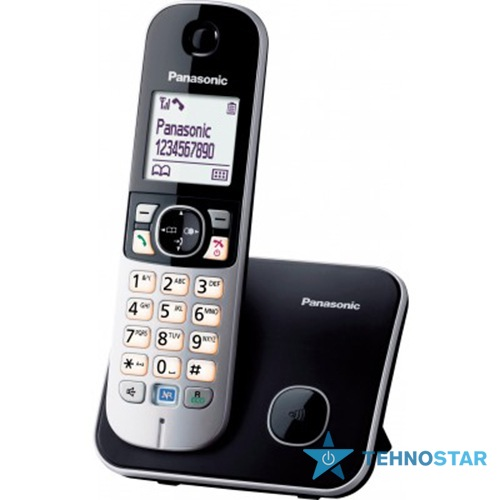 Фото - Радиотелефон Panasonic KX-TG6811UAB