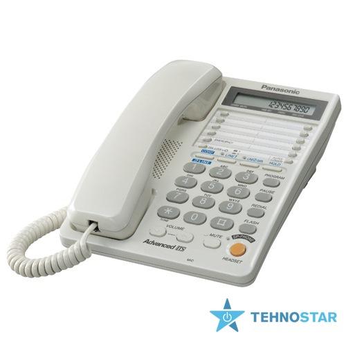 Фото - Проводные телефоны Panasonic KX-TS2368RUW