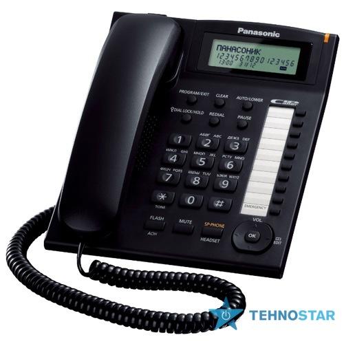 Фото - Проводные телефоны Panasonic KX-TS2388UAB