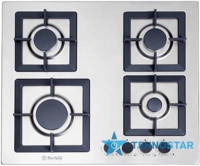 Фото - Варочная поверхность Perfelli Design HGM 6430 INOX SLIM LINE