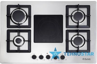 Фото - Варочные поверхность Perfelli Design HKM 7430 INOX SLIM LINE