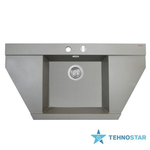 Фото - Мойка Perfelli MAJESTIC TGM 1251-96 GREY METALLIC
