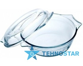 Фото - Посуда для духовки и СВЧ Pyrex 204A000 2,1 л з кришкою