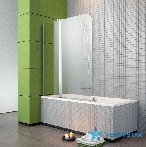 Фото - Шторка для ванны Radaway 206213-01 L/R EOS II  PND 130 (хром/прозрачное)