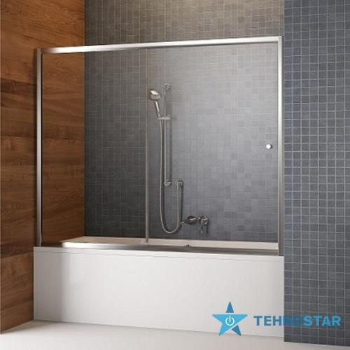 Фото - Шторка для ванны Radaway 209116-01-01 Vesta DWJ  160 (хром/прозрачное)