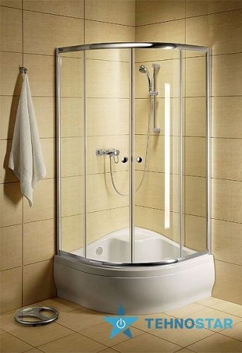 Фото - Душевая кабина Radaway 30011-04-01 Dolphi Classic Transparent