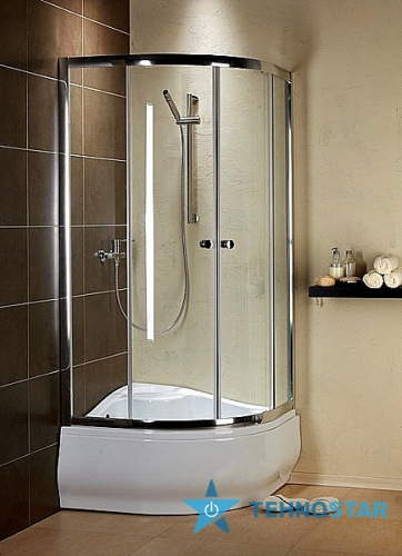 Фото - Душевая кабина Radaway 30401-01-01 Dolphi Premium