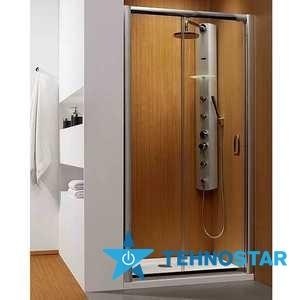 Фото - Душевая дверь Radaway 33333-01-01N Premium Plus DWJ 130
