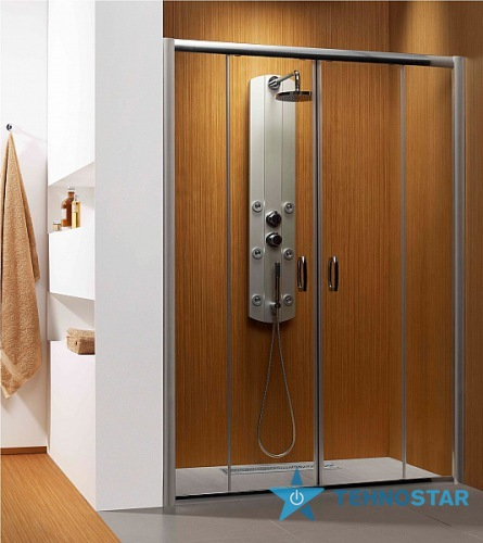 Фото - Душевая дверь Radaway 33373-01-01N Premium  Plus DWD 180 (хром/прозорачное)