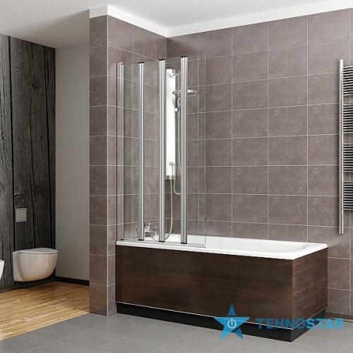 Фото - Шторка для ванны Radaway 205501-101 Eos PNW5 107 (хром/прозрачное)