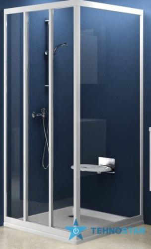 Фото - Душевая дверь Ravak APSS-80 Transparent satin