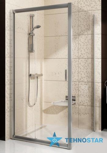 Фото - Душевая дверь Ravak BLDPS-90 Grafit glass white