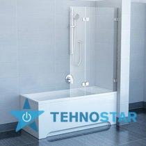 Фото - Шторка для ванны Ravak BVS2 100 L/R 7ULA0A00Z1/7UPA0A00Z1