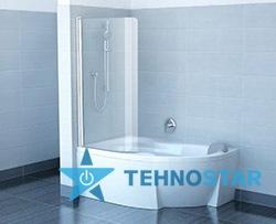 Фото - Шторка для ванны Ravak CVSK1-140/150 L/R (Transparent) satin