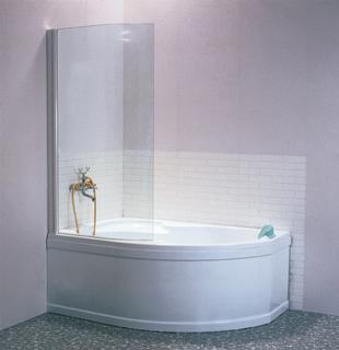 Фото - Шторка для ванны Ravak EVSK1-100 L/R ROSA II 170 Transp White