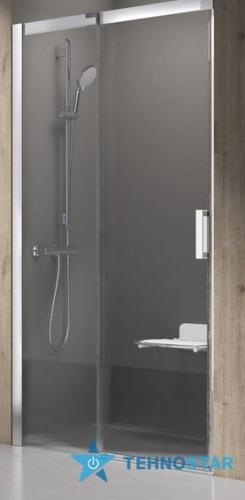 Фото - Душевая дверь Ravak MSD2-110 Matrix R/L white+Transparent 0WPD0100Z1/0WLD0100Z1