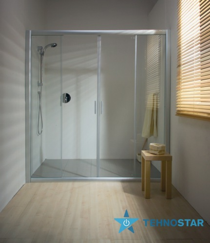 Фото - Душевая дверь Ravak NRDP 4-130 Transparent Satin