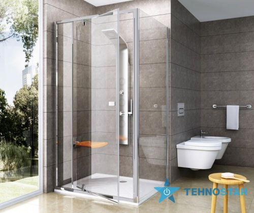 Фото - Душевая дверь Ravak PPS-90 Transparent white