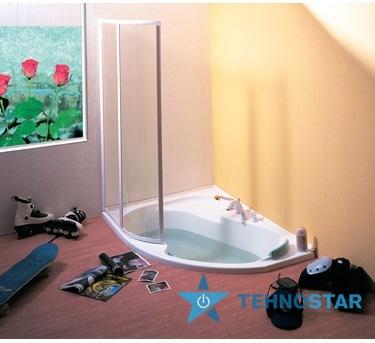 Фото - Шторка для ванны Ravak VSK2 Rosa 140 L/R Transp White 76L70100Z1/76P70100Z1