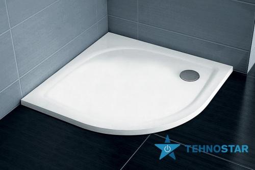 Фото - Душевой поддон Ravak Tray ELIPSO PRO-80 Flat white XA234411010