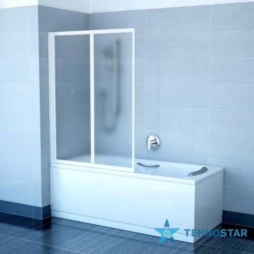 Фото - Шторка для ванны Ravak VS2 105 Grape Satin 796M0U00ZG