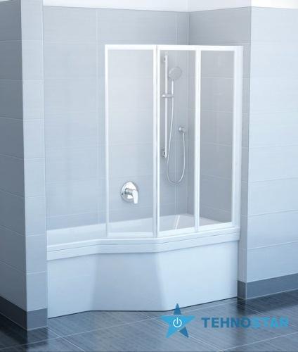 Фото - Шторка для ванны Ravak VS3 115 Rain Satin 795S0U0041
