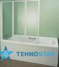 Фото - Шторка для ванны Ravak VS3 115 Transp Satin 795S0U00Z1