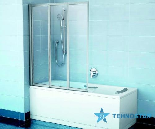 Фото - Шторка для ванны Ravak VS3 115 Rain white 795S010041