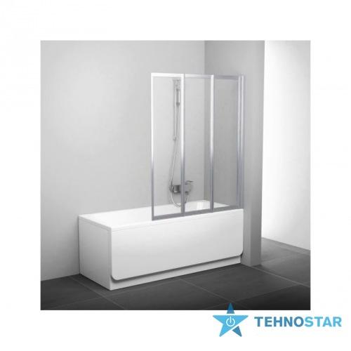 Фото - Шторка для ванны Ravak VS3 130 Transparent white 795V0100Z1