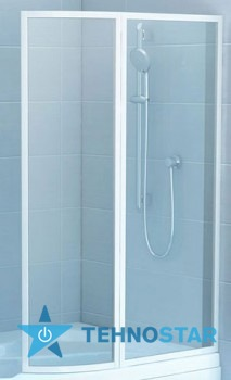 Фото - Шторка для ванны Ravak VSK2 Rosa 160 L/R Rain white 76L9010041/76P9010041