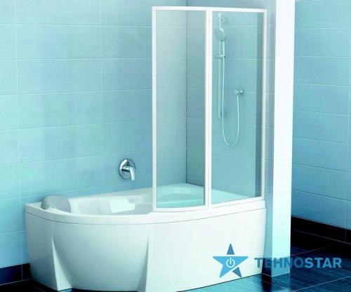 Фото - Шторка для ванны Ravak VSK2 Rosa 150 L/R Transp White 76L80100Z1/76P80100Z1