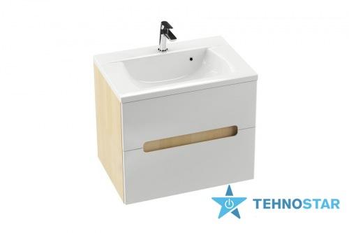 Фото - Тумба для умывальника Ravak Wash basin cupboard SD 800-R Classic II birch/white