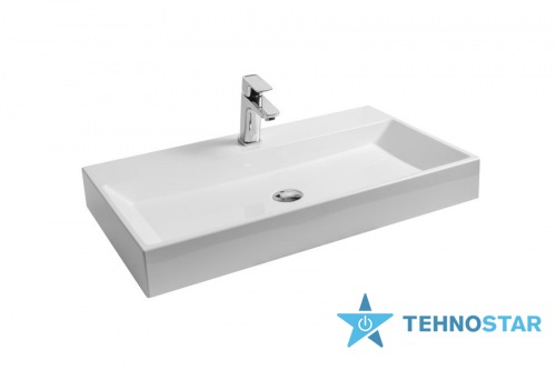 Фото - Умывальник Ravak Washbasin NATURAL 800 white without overflow