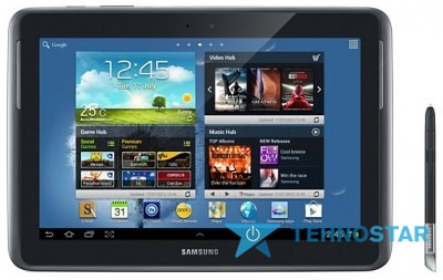 Фото - Планшетный ПК Samsung N8000 Galaxy Note 10.1 16GB Deep Grey